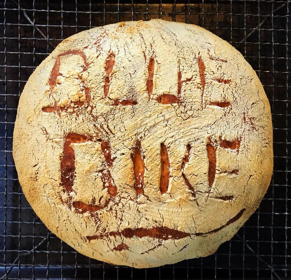 blue bike boule