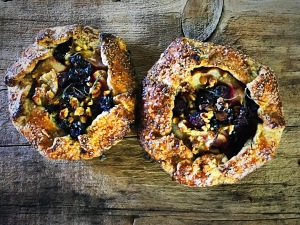 Pear Blueberry Galettes