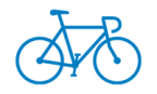 blue bike sm logo